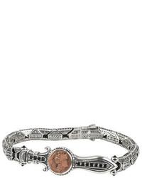 Konstantino Sterling Silver Copper Bracelet Wspinel