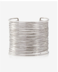 Express Wrapped Metal Cuff Bracelet