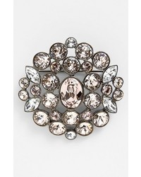 Givenchy Crystal Cluster Brooch