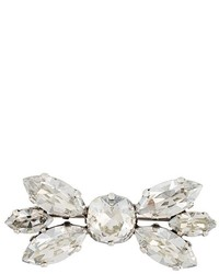 Isabel Marant Crystal Embellished Ribbon Brooch