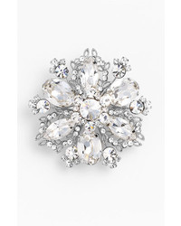 Nina Treasure Floral Crystal Brooch