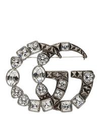 Gucci Silver Marmont Brooch
