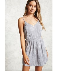 Forever 21 Crinkle Pleated Cami Dress