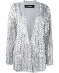 Filles a papa Braided Sequin Cardigan