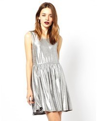 Silver Casual Dress Outfits (26 ideas