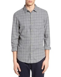 Original Penguin Windowpane Flannel Shirt