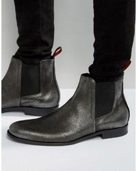 Hugo Boss Boss Hugo By Sigma Metallic Chelsea Boots