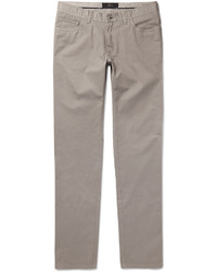 Brioni Slim Fit Stretch Cotton Chinos