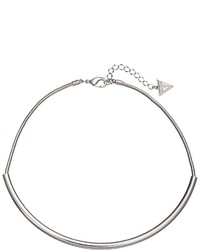 GUESS Sleek Tube On Chain Choker Necklace Necklace