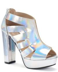 N.Y.L.A. Nyla Bessie Chunky Heel Sandals