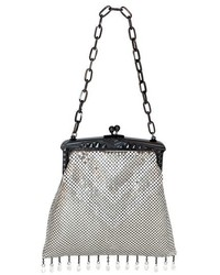 Whiting & Davis Heritage Deco Mesh Clutch
