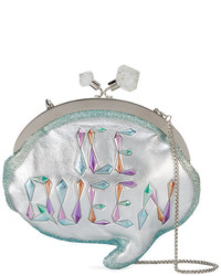 Ice queen speech bubble clutch bag medium 5275624