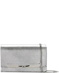 Metallic twist lock clutch bag medium 5052889