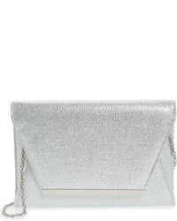 Jessica McClintock Ryder Envelope Clutch Blue