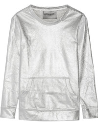 Silver Crew-neck Sweater