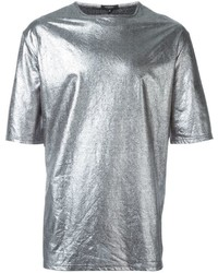 Silver Crew-neck T-shirt