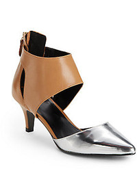 Kelsi Dagger Deedee Colorblock Cutout Heels