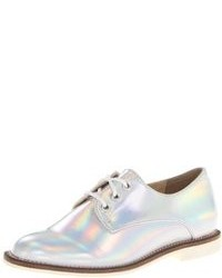 Silver Derby Shoes