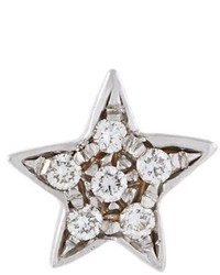 Carolina Bucci 18kt White Gold Superstellar Star Stud Earring