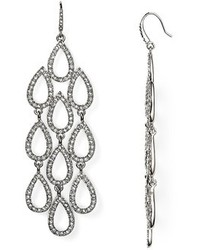 ABS by Allen Schwartz Pave Beach Chandelier Earrings