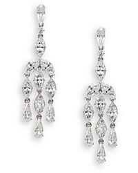 Adriana Orsini Marquis Teardrop Chandelier Earrings
