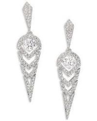 Adriana Orsini Stella Pave Crystal Drop Earrings