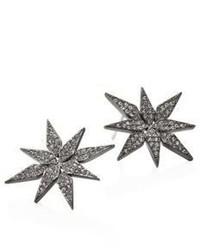 Adriana Orsini Stella Pave Crystal Starburst Stud Earrings
