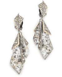 Alexis Bittar Layered Origami Earrings