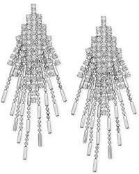 Alfani Crystal Stone Chandelier Earrings