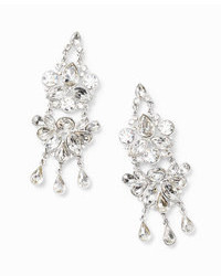 Ann Taylor Crystal Chandelier Earrings