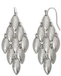 Arizona Silver Tone Chandelier Earrings