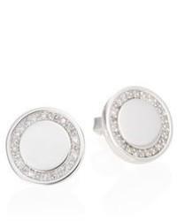 Astley Clarke Cosmos Diamond Sterling Silver Stud Earrings