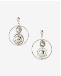 Express Ball Orbit Hoop Earrings