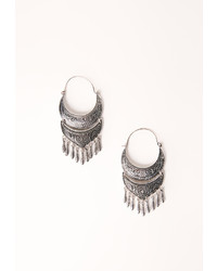 Missguided Boho Statet Earrings Silver