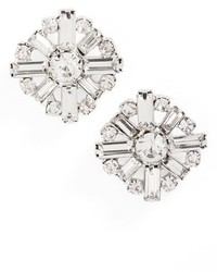 Cara Crystal Cluster Earrings