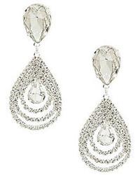 Cezanne Teardrop Wave Statet Earrings