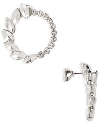 Topshop Crystal Hoop Ear Jackets