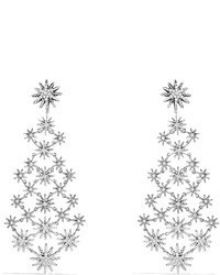 David Yurman Starburst Chandelier Earrings With Diamonds