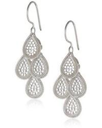 Anna Beck Designs Gili Sterling Silver Mini Chandelier Earrings