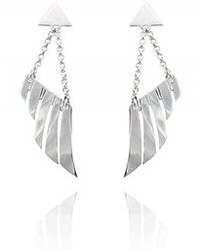 Carnet de Mode Duncan Stevens Earrings Valkyrie Chandelier Silver