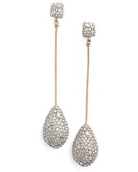 Alexis Bittar Elets Long Teardrop Earrings