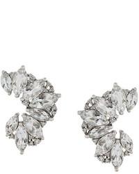 Elise Dray Topaz Diamond Earrings