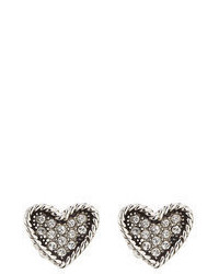Marc Jacobs Embellished Heart Earrings