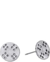 The Sak Etched Metal Stud Earrings Earring
