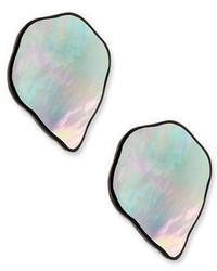 Viktoria Hayman Freeform Petal Clip On Earrings