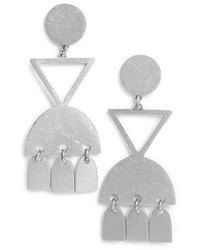 Madewell Geo Statet Drop Earrings