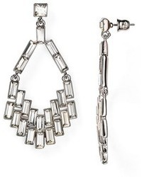 ABS by Allen Schwartz Geometric Chandelier Earrings