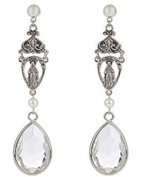 Givenchy Crystal Embellished Earrings