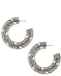 Dannijo Hawk Hoop Earrings