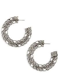 Dannijo Hawk Hoop Earrings
